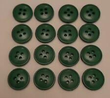 5 X 18mm Botones de Plástico de dos tonos-B0011