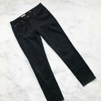 AG Adriano Goldschmied Jeans The Stilt Super Black - Size 29