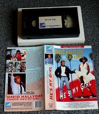 HE'S MY GIRL  (David Hallyday) - VHS (version française)