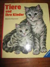 E688)PAPP-KINDERBUCH TIERE U. IHRE KINDER ALBERTINE DEPENDORF RAVENSBURGER 1980