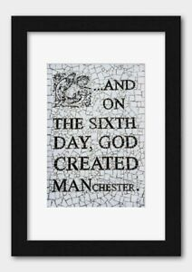 On the 6th Day God Created Manchester Short Street 2017 Poster