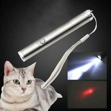 2 in 1 Red Pet Cat Toys Laser Pointer Pen Led light Funny Pet Supplies