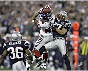 "David Tyree New York Giants Unsigned Super Bowl XLII Catch 8"" x 10"" Photo"