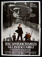 Werbeplakat Gli Intoccabili The Untouchables Costner De Niro, Brian Palma M323