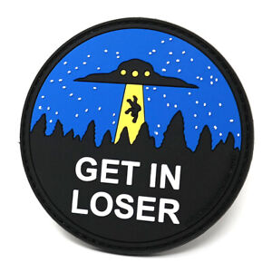 Get in Loser PVC Rubber Morale Patch | Funny Tactical Patch