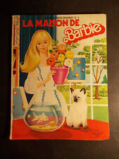 Rare album illustré La Maison de Barbie Poupée Dolly Gloria Soc 1980 Mattel RARE