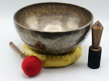 """16"""" Tiger antique singing bowl, Tibetan singing bowl- meditation, Chakra healing"""