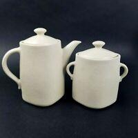 Vintage Lindt Stymeist Craftworks Linen Sugar and Creamer Set