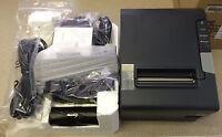 Brand New Epson TM-T88V-084 Serial/USB Printer C31CA85084 With Power Sply M244A