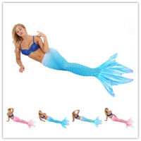 Women Girls Four Claws Mermaid Tail Swimwear Swimmable Swimming Costume Swimsuit