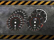 "TACHOSCHEIBEN - BMW E90 E91 E92 E93 X3 - 3 SERIES - F Style Tacho ""LOW"""