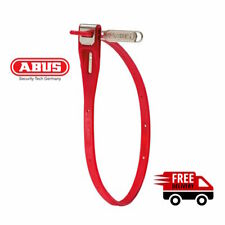 ABUS Multizip-Reusable Stainless Steel Core Lockable Cable Tie -Red -FREE POST