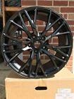 19 20 Satin Black Wheels - Fits Corvette C7 Z06 Style Z51 Staggered Chevy