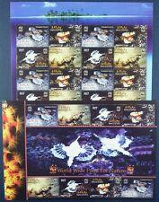 Malediven Maldive 2004 WWF Fische Fishes Poissons 4407-10 Kleinbögen (2) MNH