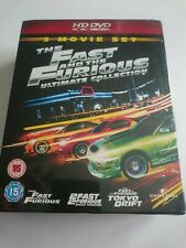 The Fact And The Furious Ultimate Collection (2008, HD DVD) 3 Movie Set