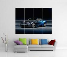 BMW i8 Voiture Mur Géant photo art Pic imprimé Poster