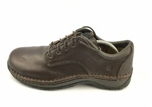 Red Wing 8704 SD Stitchmax Brown Leather Slip Resistant Shoes Men's 10 D