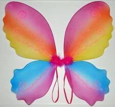 RAINBOW Butterfly Fairy Wings !