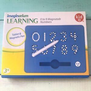 Kid O Magnatab Magnetic Drawing Tablet Numbers 0 To 9 Imaginarium Toys R Us