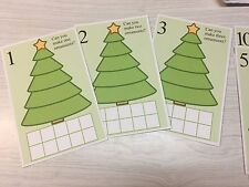 Ornament Count - Dry Erase - Laminated 1-10 Activity Set - Teaching Supplies