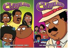 The Cleveland Show Season 3 + 4 Series Three Four Region 4 DVD