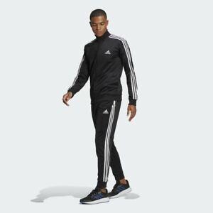 adidas Men's Primegreen Essentials 3-Stripes Track Suit (Jacket & Pant) GK9651