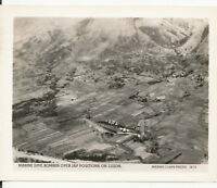 WWII 1940sOfficial USMC Marine airplane Photo Dive Bomber on Luzon