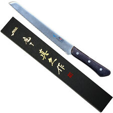"Japan MAC Knife BS-90 Chef Series 9"" Blade Japanese Serrated Bread Roast Slicer"