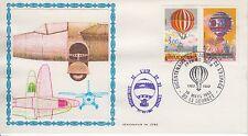 ESSAIE SERIGRAPHIE DE JUBE PREMIER JOUR 1983 EUROPA  DE L AIR ET L ESPACE