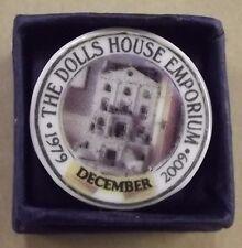 DOLLS House EMPORIUM trentesimo anniversario (1979-2009) 1 / 12A PIASTRA ref 5603 dicembre
