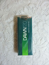 Vintage Dawn 120's Menthol Cigarette Pack EMPTY Display Only