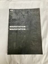 Original Korg Wavestation EX, A/D Synthesizer Catalog, Brochure 1992