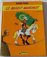 BD LUCKY LUKE - LE BANDIT MANCHOT - MORRIS - E.O. 2EME TRIMESTRE 1981