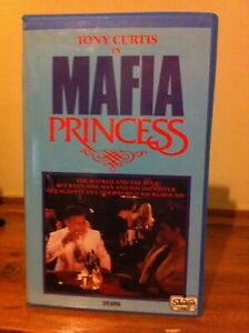 Mafia Princess godfather VHS showcase Ex-rental video tape drama Mob no DVD 1986