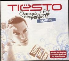 DJ TIESTO Elements of Life REMIXED 12 track NEW CD DIGIPACK 2008