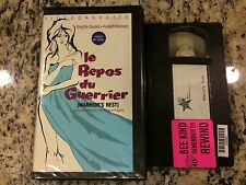 LE REPOS DU GUERRIER aka WARRIOR'S REST RARE BIG BOX VHS! BRIGITTE BARDOT FRENCH