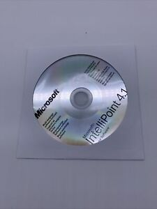 Microsoft IntelliPoint 4.1 Mouse Install Software CD