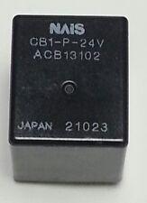2 pcs.  NAIS (Matsushita) Japan  Relais  24VDC  CB1-P-24V  PCB Relay  NEW