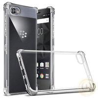 For BlackBerry KEY2 / KEYone Case Ultra Slim Clear TPU Shockproof Phone Cover