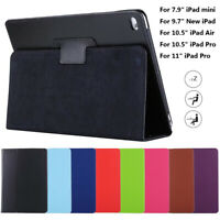 """Tablet Cover Smart Case For Apple iPad mini 7.9"""" 6th Gen 9.7"""" Air 10.5"""" Pro 11"""""""