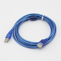 Practical Practical 15FT USB 2.0 Male to Female Extend Extention Cable FLA