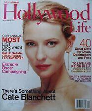 CATE BLANCHETT November 2003 HOLLYWOOD LIFE  Gwyneth Paltrow  Monica Bellucci