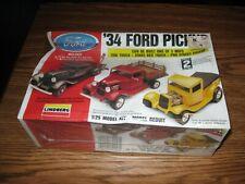 Lindberg 34' Ford Pickup 3-In-1 Plastic Model Kit #72157