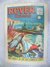 Comic- Rover and Wizard 7th May 1966