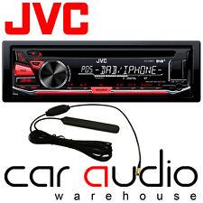 JVC KD-DB67 Car Stereo DAB+ Radio CD MP3 USB AUX In iPhone Player & DAB Aerial