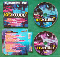 2 CD Compilation 105 In da Klubb NARI AND MILANI DR.KUCHO PLANET FUNK no lp(C1)