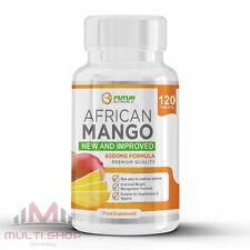 Pure AFRICAN MANGO 6000mg 120 Tabletten Afrikanische Diät Abnhemen Appetitzügler