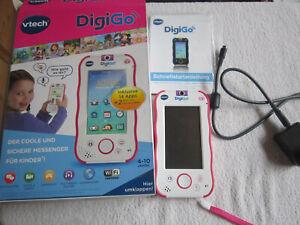 Vtech DigiGo pink Kinder Messenger über Wlan wie ein Handy bedienen 4-10 J.  4G