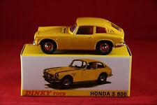 DINKY TOYS / ATLAS  ref.1408    HONDA S 800 + FICHE / CERTIFICAT   PORT GRATUIT