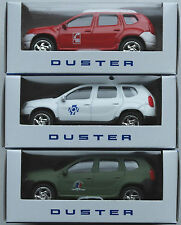 3 x NOREV-Dacia Duster utilisation véhicules pompiers/SAMU/militaire Nouveau/Neuf dans sa boîte
